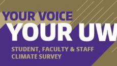 Your Voice Your UW climate survey